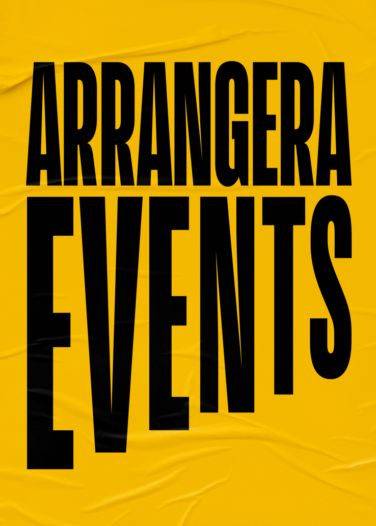 Arrangera events