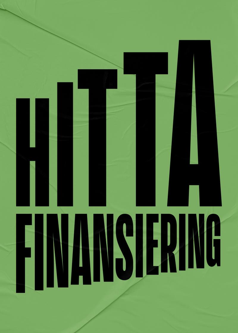 Hitta finansiering